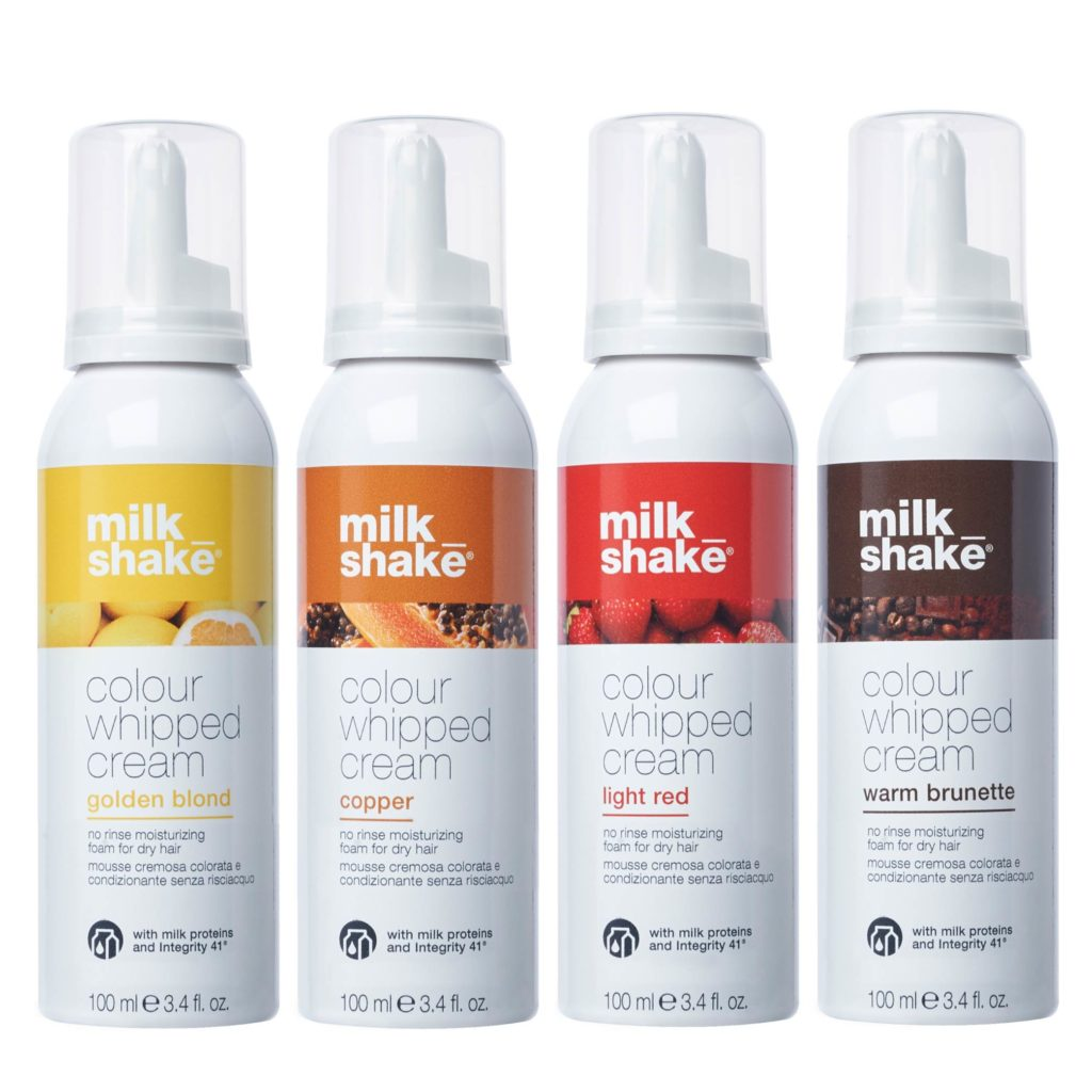 colour whipped cream_milk shake